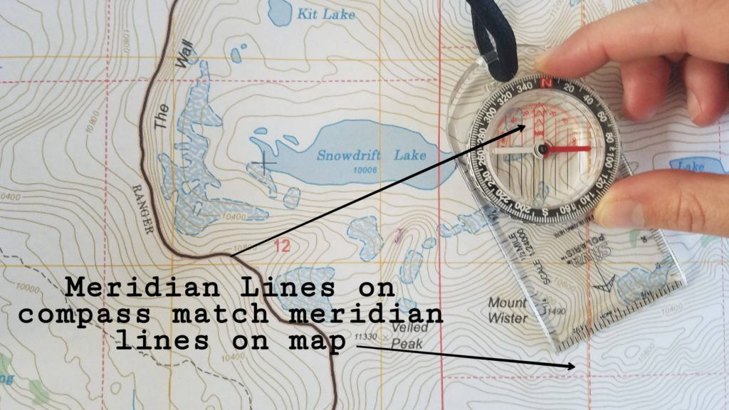 Meridian lines match