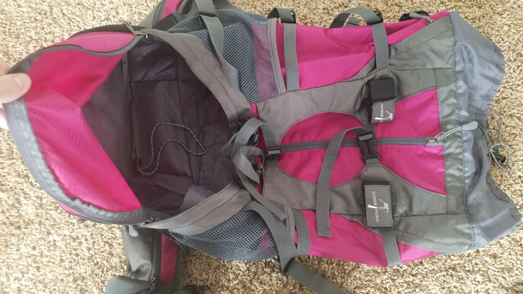 Wasing 55L Internal Frame Backpacking Review
