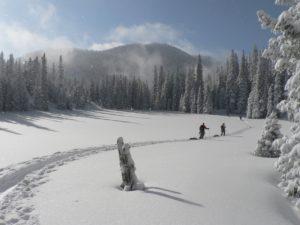 Snow Hiking