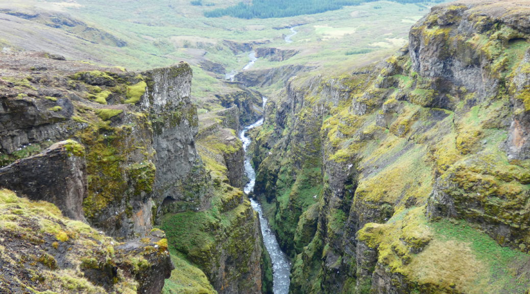 The Majestic Glymur Waterfall Hike