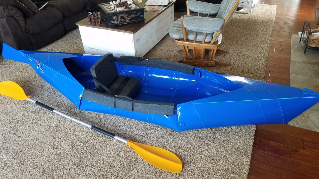 Collapsible Kayaks and Other Portable Watercraft